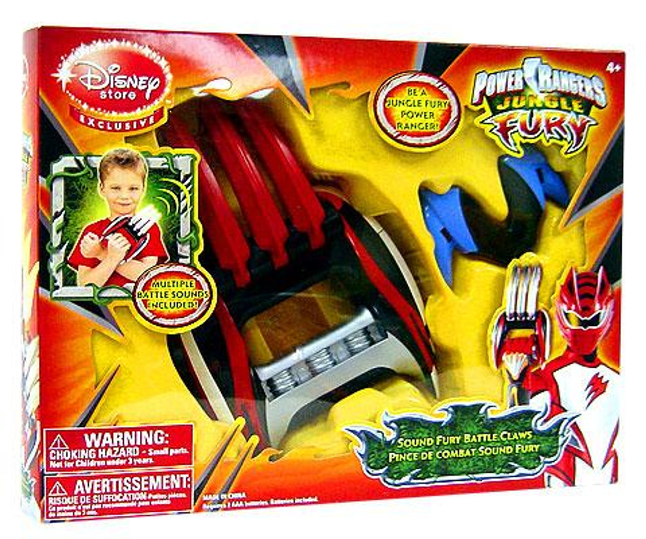 Power Rangers Jungle Fury Sound Fury Battle Claws Exclusive Roleplay Toy