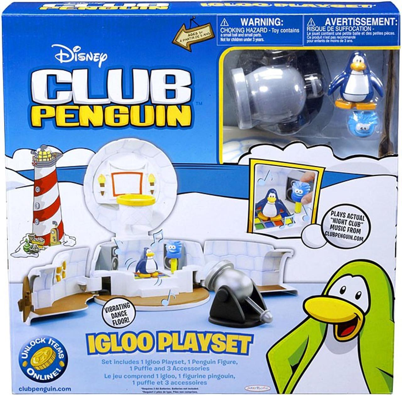 Club Penguin Igloo Playset [Damaged Package]