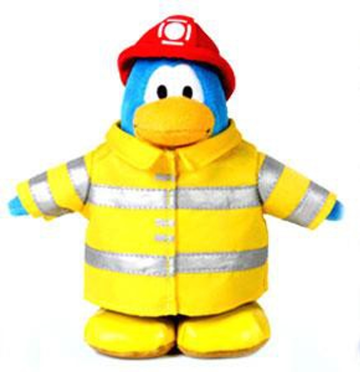 Club Penguin Series 1 Firefighter 6.5-Inch Plush Figure