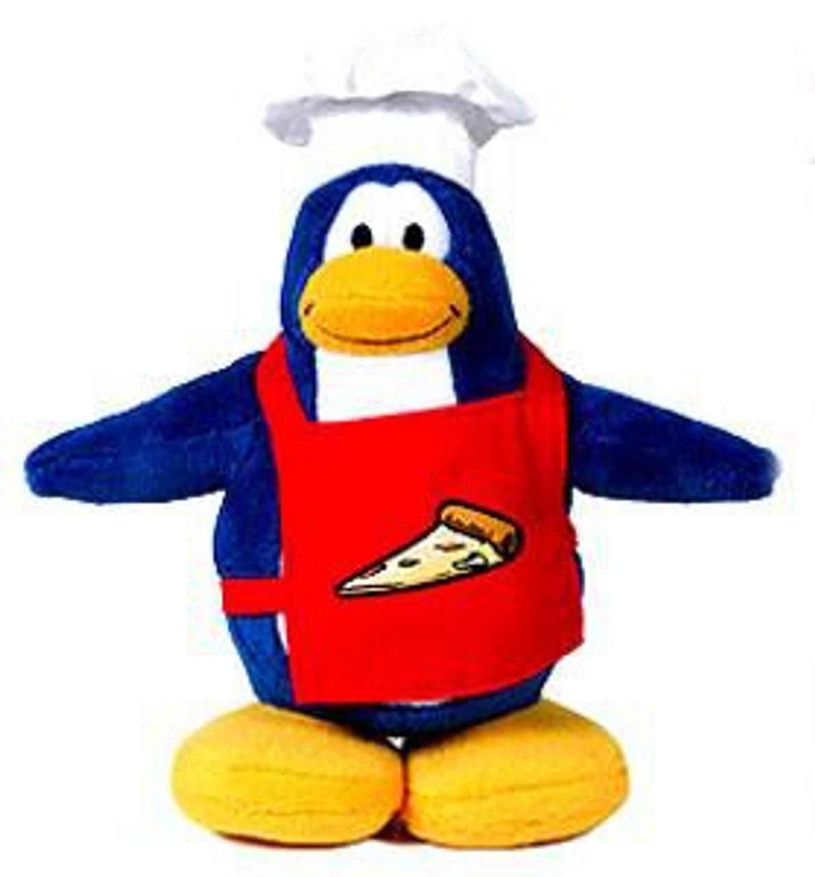 Club Penguin Series 1 Pizza Chef 6.5-Inch Plush Figure [Version 1]