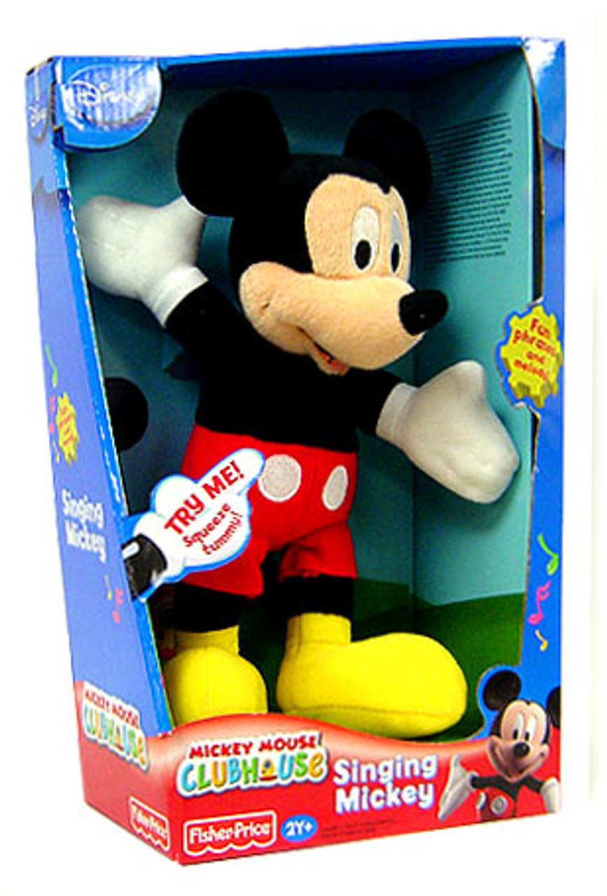 Disney Mickey Mouse Clubhouse Mickey Mouse 12-Inch Plush [Singing]