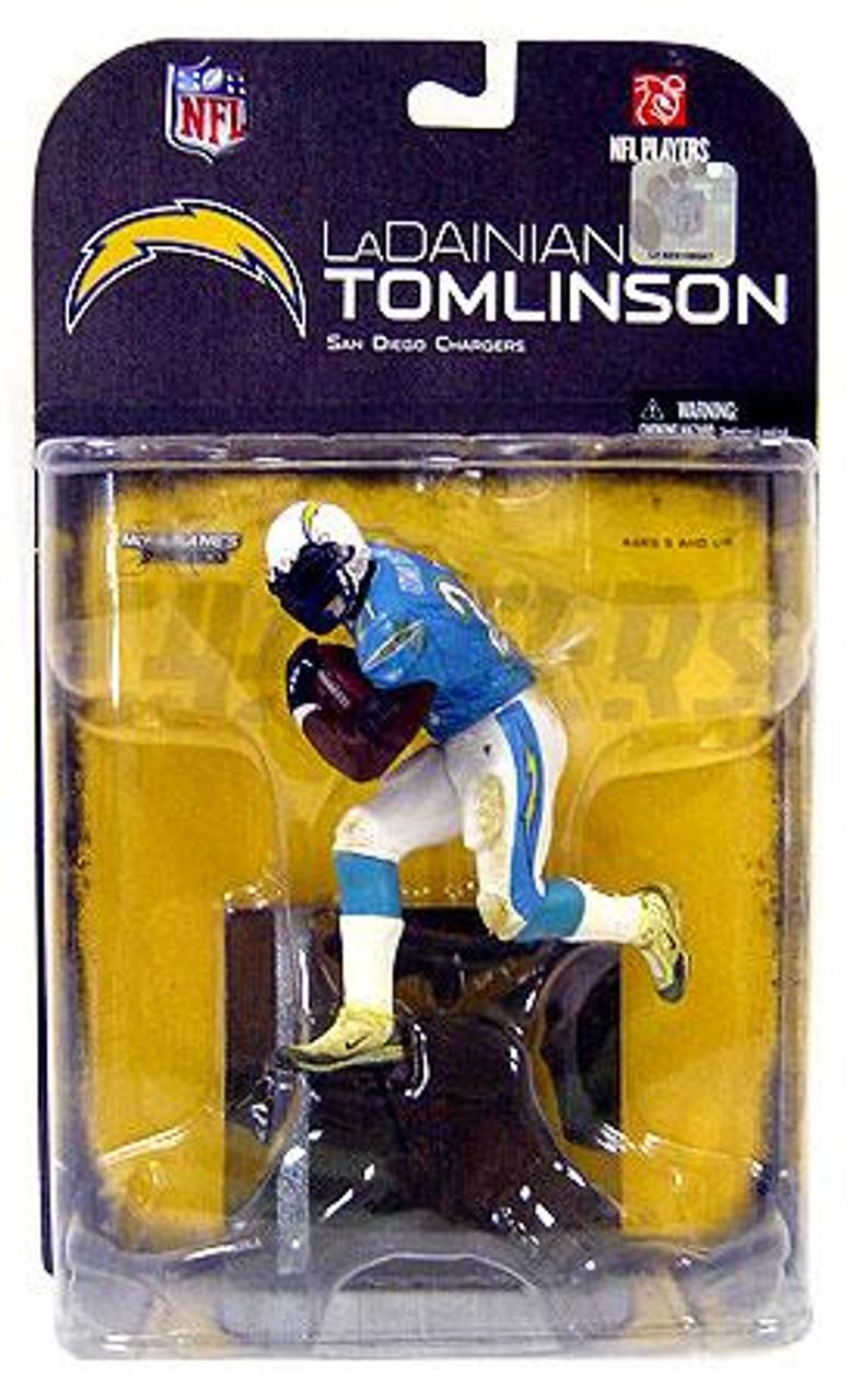 McFarlane Toys NFL San Diego Chargers Sports Picks Series 18 LaDainian Tomlinson Action Figure [Black Armband Variant]