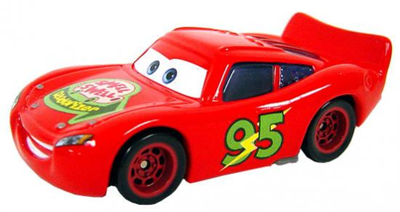 Disney Cars Loose Smell Swell Lightning McQueen Diecast Car [Loose]