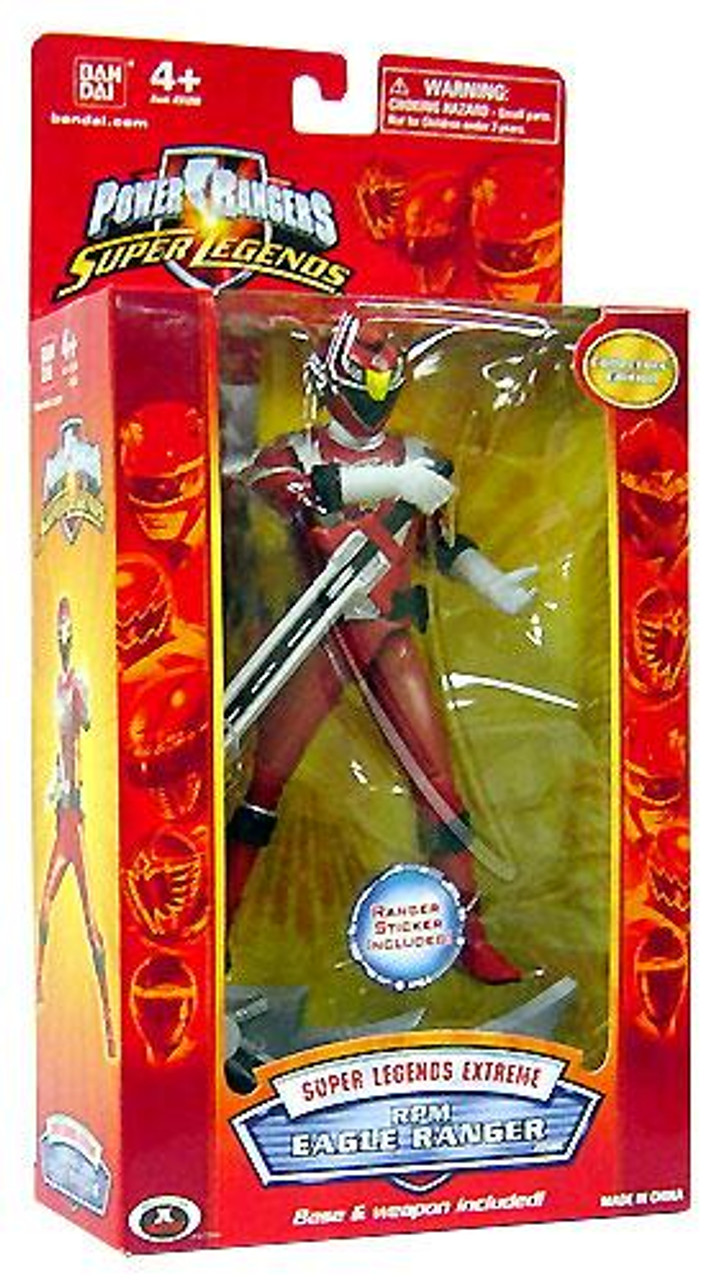 Power Rangers Super Legends Exgreme RPM Eagle Ranger Action Figure [Red]