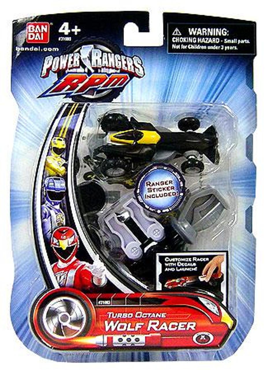 Power Rangers RPM Turbo Octane Wolf Racer Action Figure