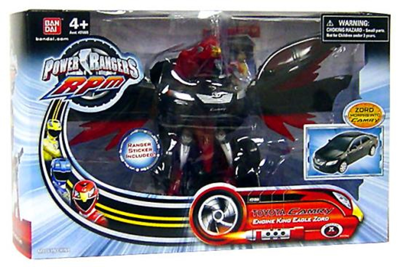 Power Rangers RPM Toyota Camry Engine King Eagle Zord Action Figure