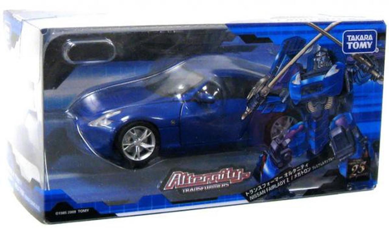 Transformers Japanese Alternity Nissan Fairlady Z Megatron Action Figure A-02 [Black]