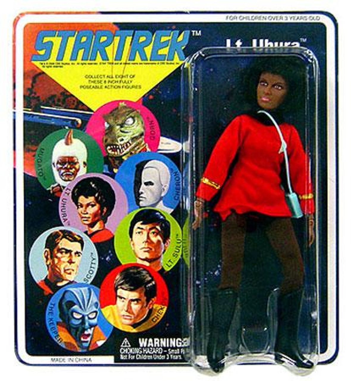 Star Trek The Original Series Series 5 Cloth Retro Uhura Action Figure