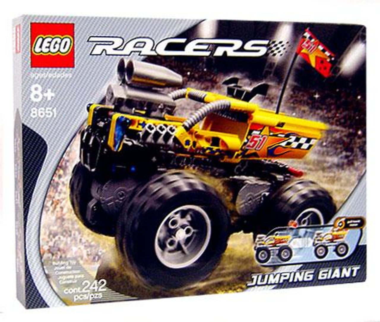 LEGO Racers Jumping Giant Monster Truck Set #8651