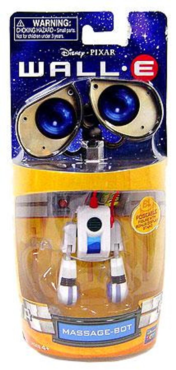 Disney / Pixar Wall-E 3 Inch Poseable Massage-Bot Mini Figure