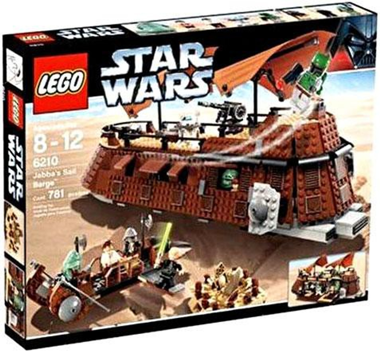 LEGO Star Wars Return of the Jedi Jabba's Sail Barge Set #6210
