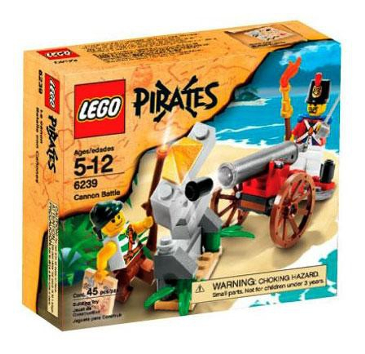 LEGO Pirates Cannon Battle Set #6239