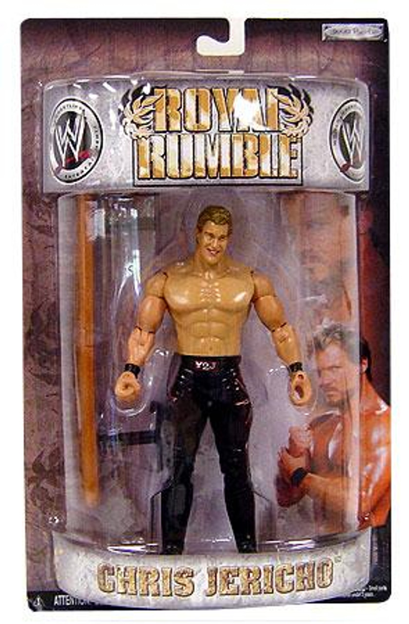 WWE Wrestling Pay Per View Royal Rumble 2008 Chris Jericho Action Figure