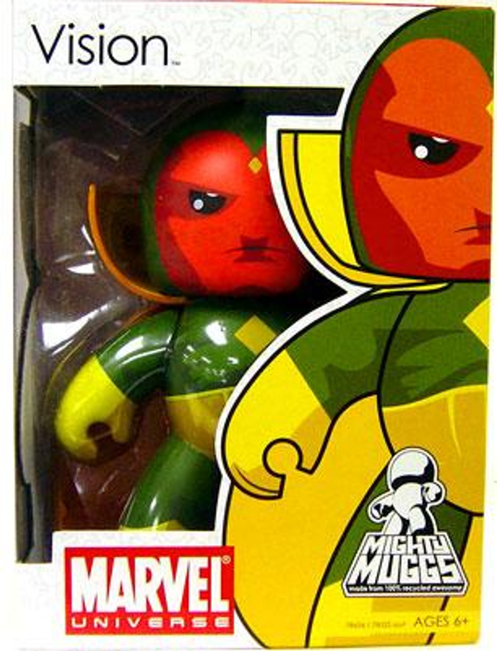 Marvel Mighty Muggs Series 5 Vision Vinyl Figure