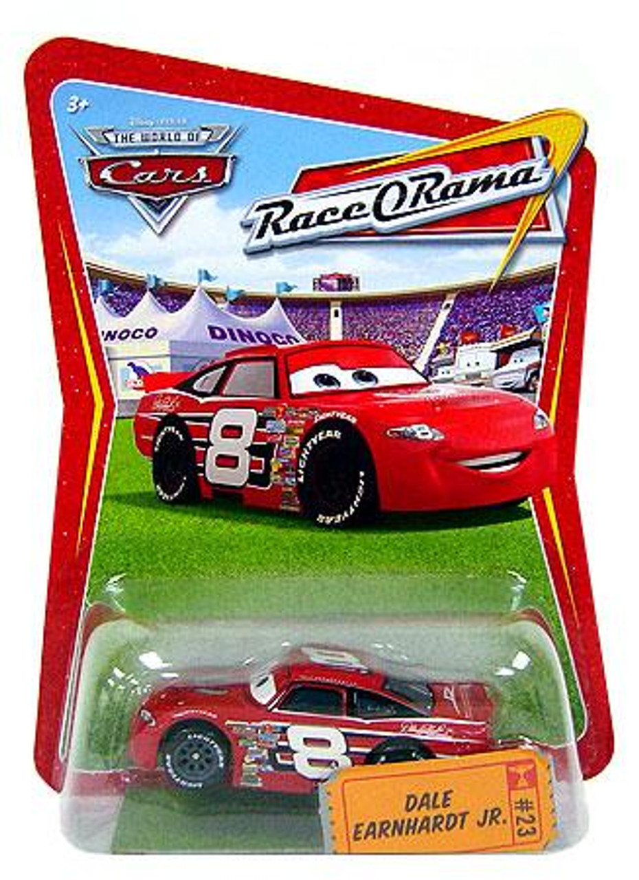 Disney Cars The World of Cars Race-O-Rama Dale Earnhardt Jr. Diecast Car #23