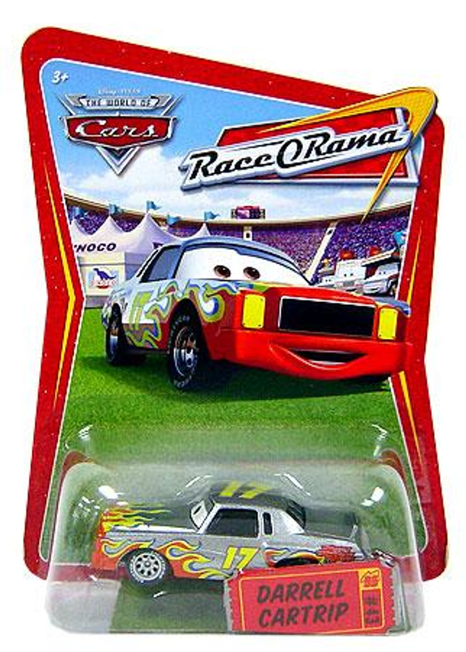 Disney Cars The World of Cars Race-O-Rama Darrell Cartrip Diecast Car #43