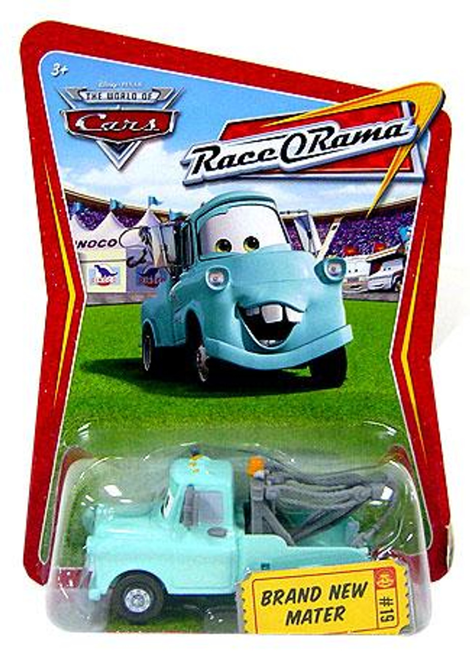 Disney Cars The World of Cars Race-O-Rama Brand New Mater Diecast Car #19