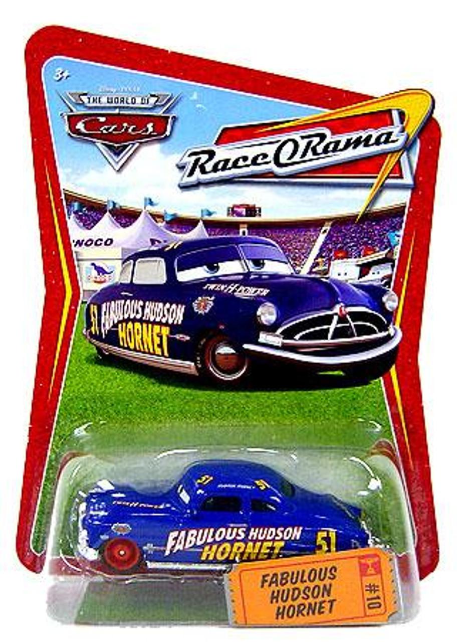 Disney Cars The World of Cars Race-O-Rama Fabulous Hudson Hornet Diecast Car #10