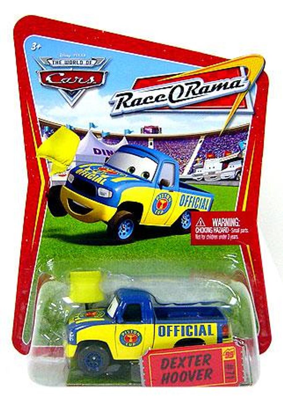 Disney Cars The World of Cars Race-O-Rama Dexter Hoover Diecast Car #71