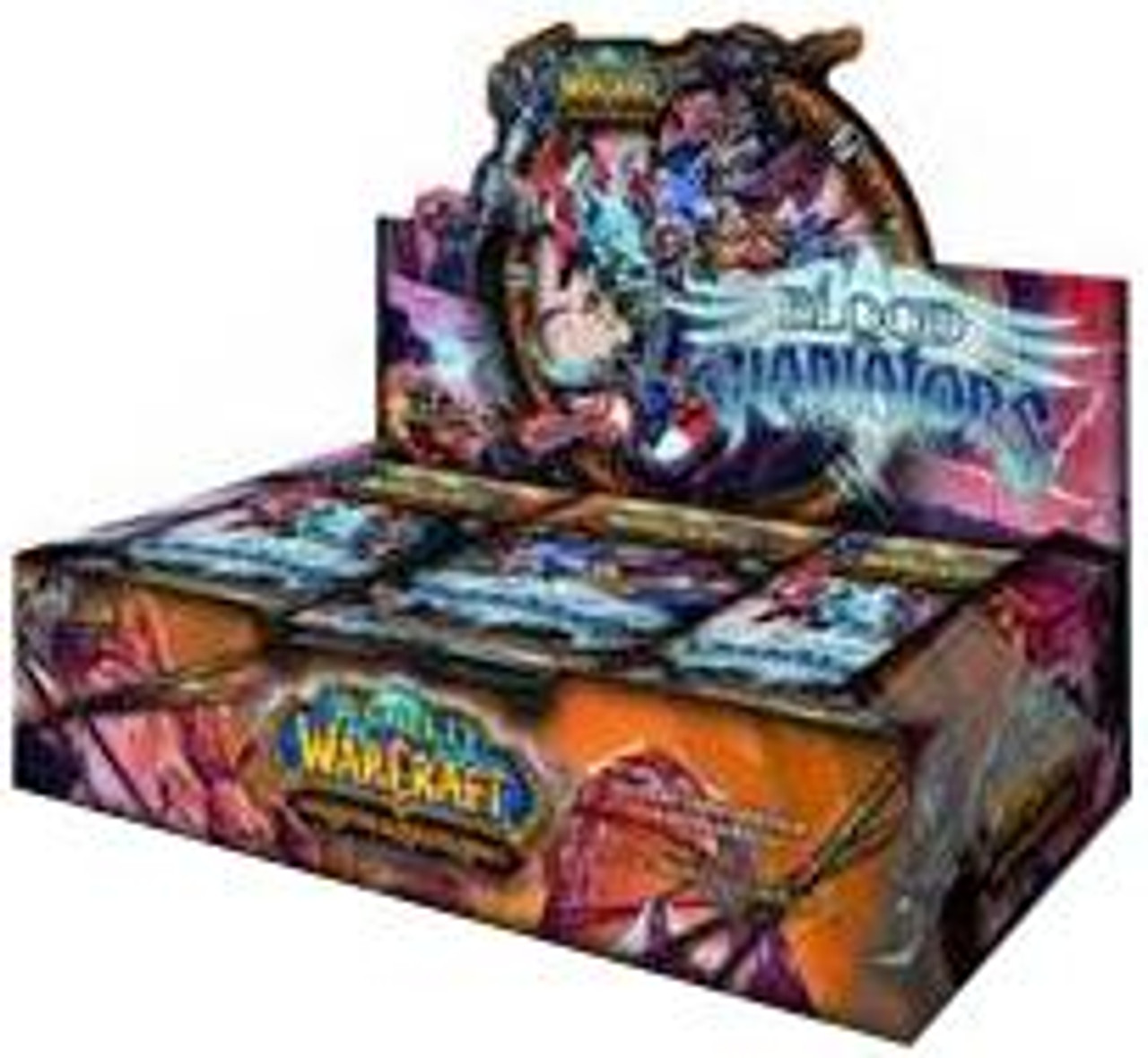 World of Warcraft Trading Card Game Blood of Gladiators Booster Box [24 Packs]