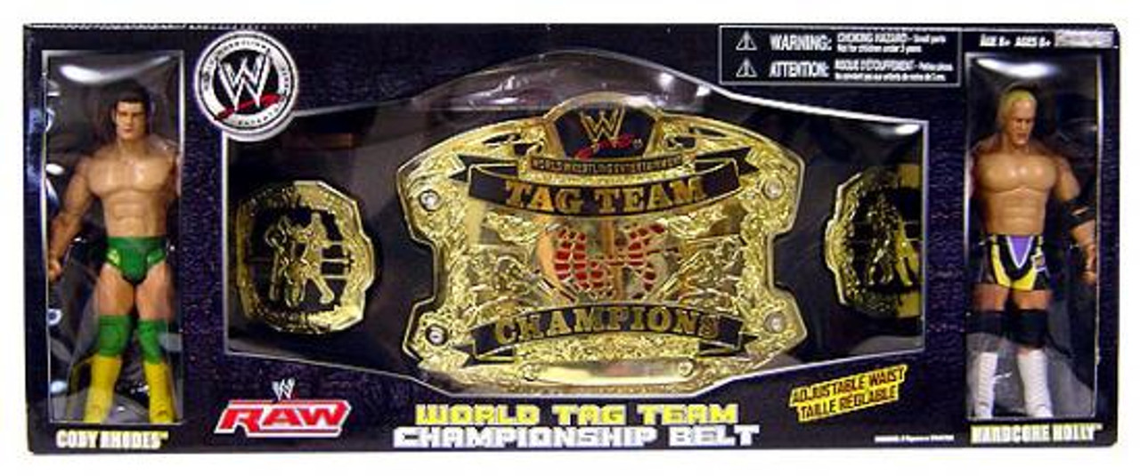 WWE Wrestling Belts World Tag Team Championship Belt Exclusive