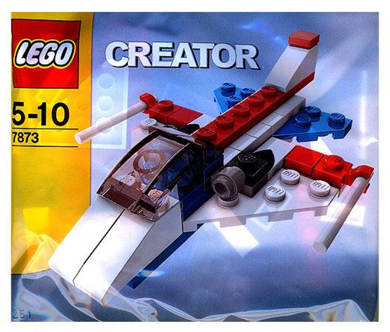 LEGO Creator Jet Plane Mini Set #7873 [Bagged]