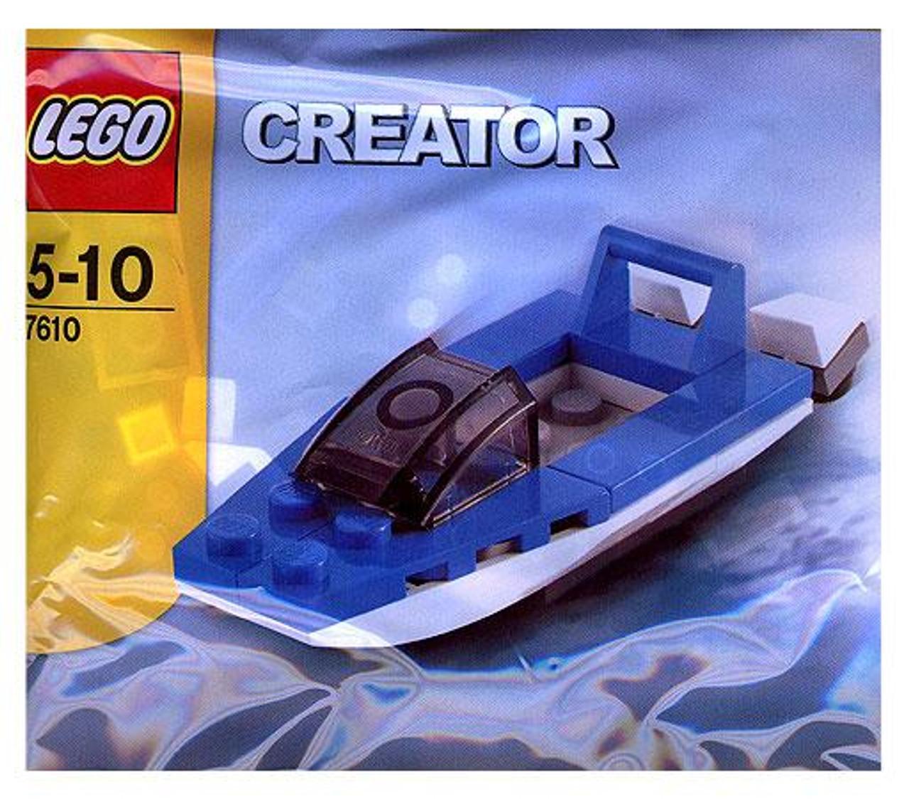 LEGO Creator Speed Boat Mini Set #7610 [Bagged]