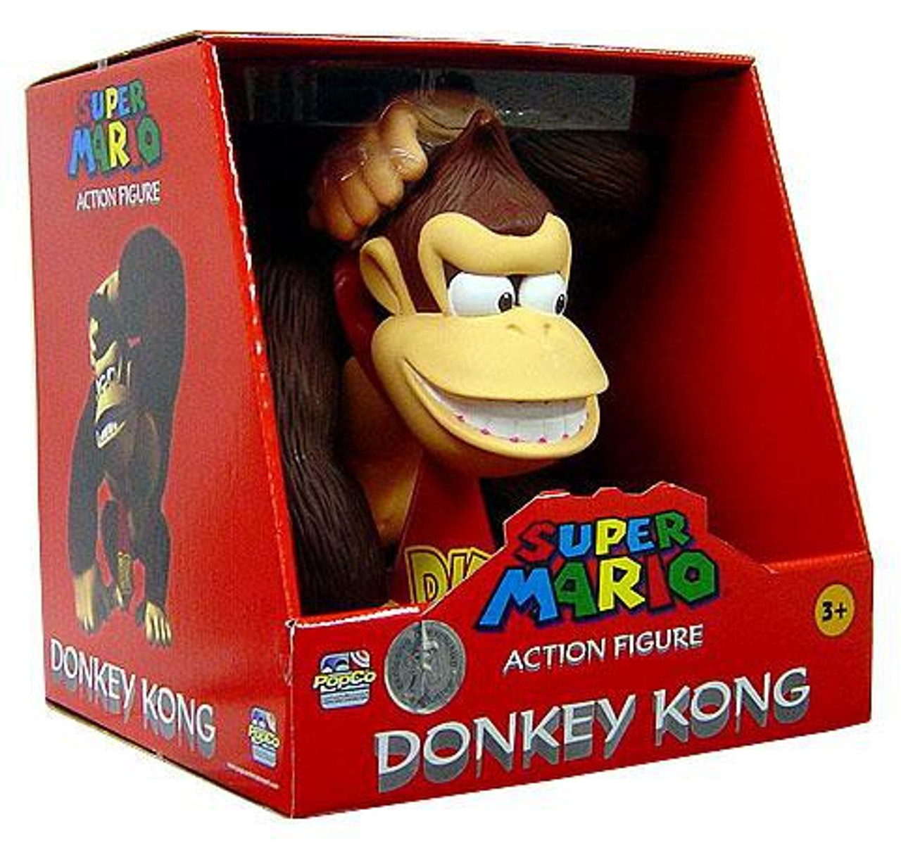 Super Mario Mario Kart Donkey Kong Exclusive Action Figure