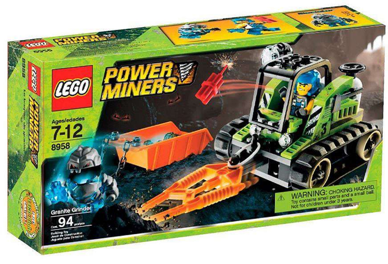 LEGO Power Miners Granite Grinder Set #8958