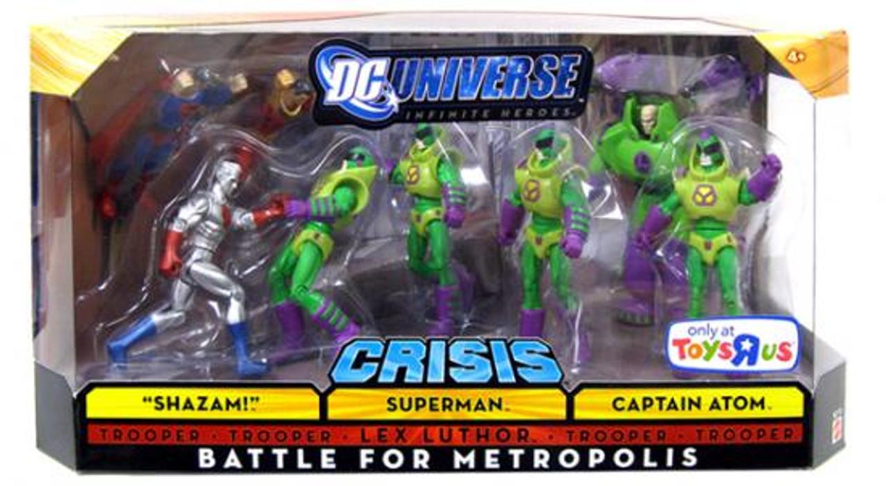 DC Infinite Heroes Crisis Battle for Metropolis Exclusive Action Figure Set