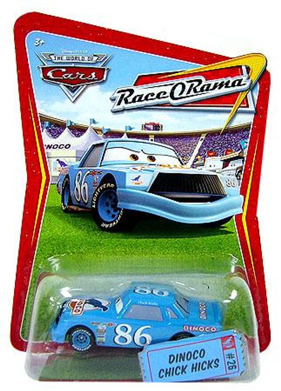 Disney Cars The World of Cars Race-O-Rama Dinoco Chick Hicks Diecast Car #26