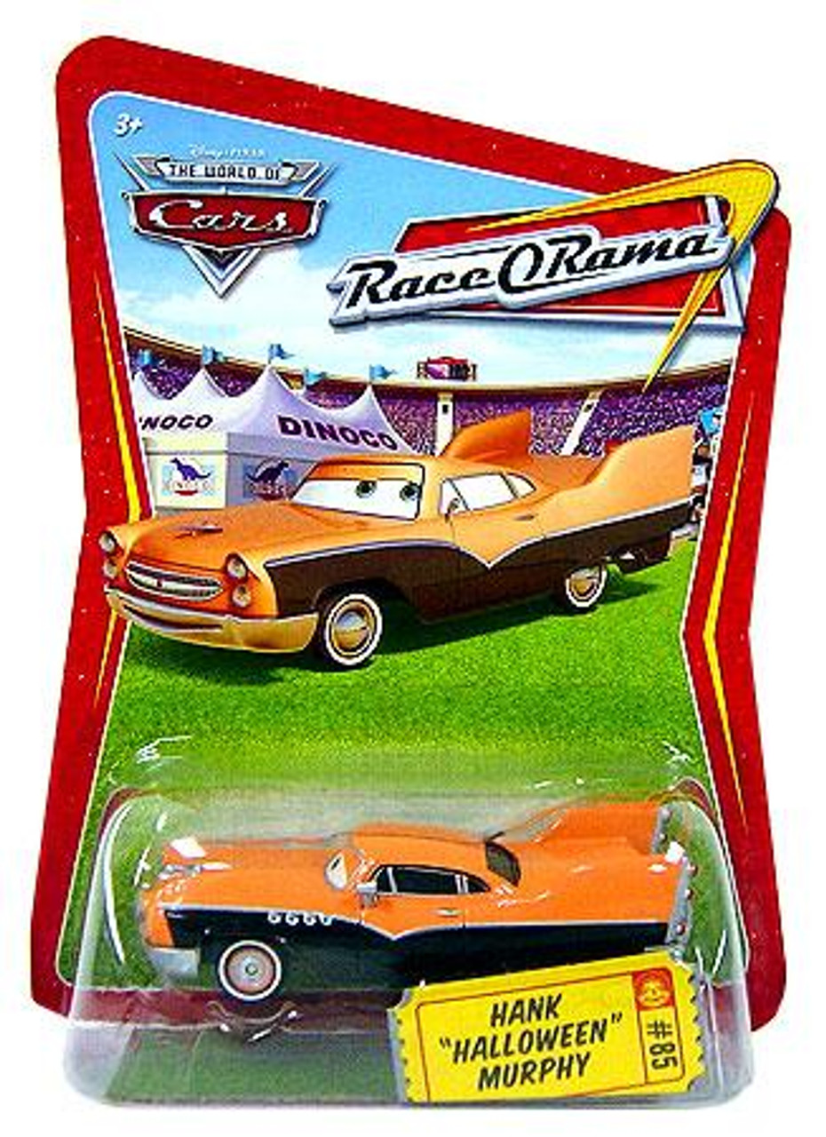 "Disney Cars The World of Cars Race-O-Rama Hank ""Halloween"" Murphy Diecast Car #85"