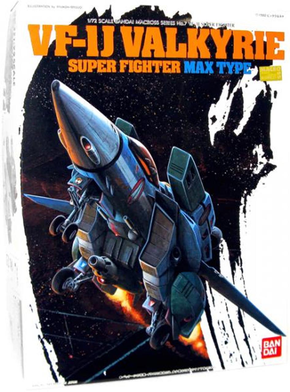 Macross VF-1J Valkyrie Super Fighter Model Kit [Max Type]