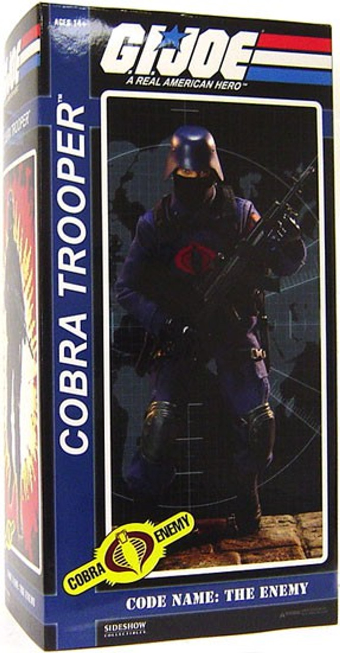 GI Joe Cobra Enemy Cobra Trooper 1/6 Collectible Figure