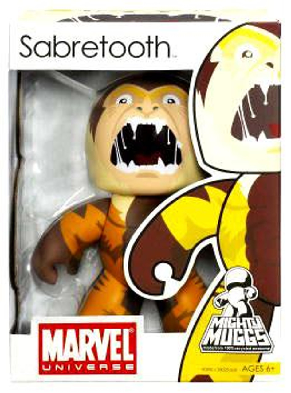 Marvel Mighty Muggs Series 6 Sabretooth Vinyl Figure