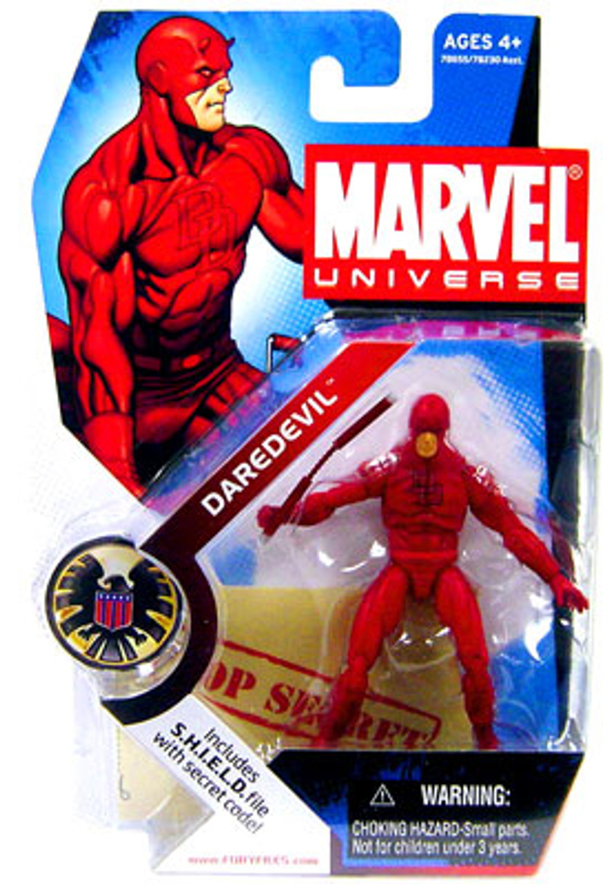 Marvel Universe Series 1 Daredevil Action Figure #8 [Arm Up]