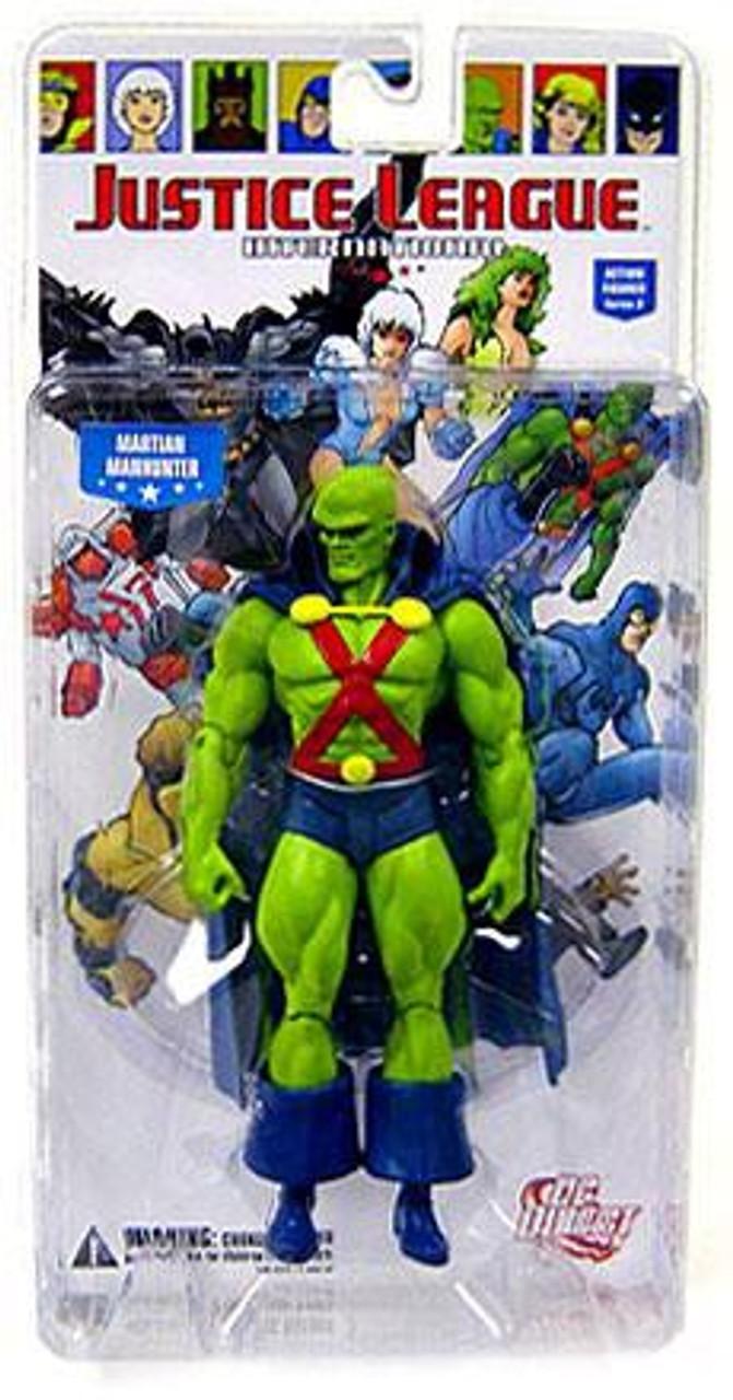 DC Justice League International Series 2 Martian Manhunter Action Figure