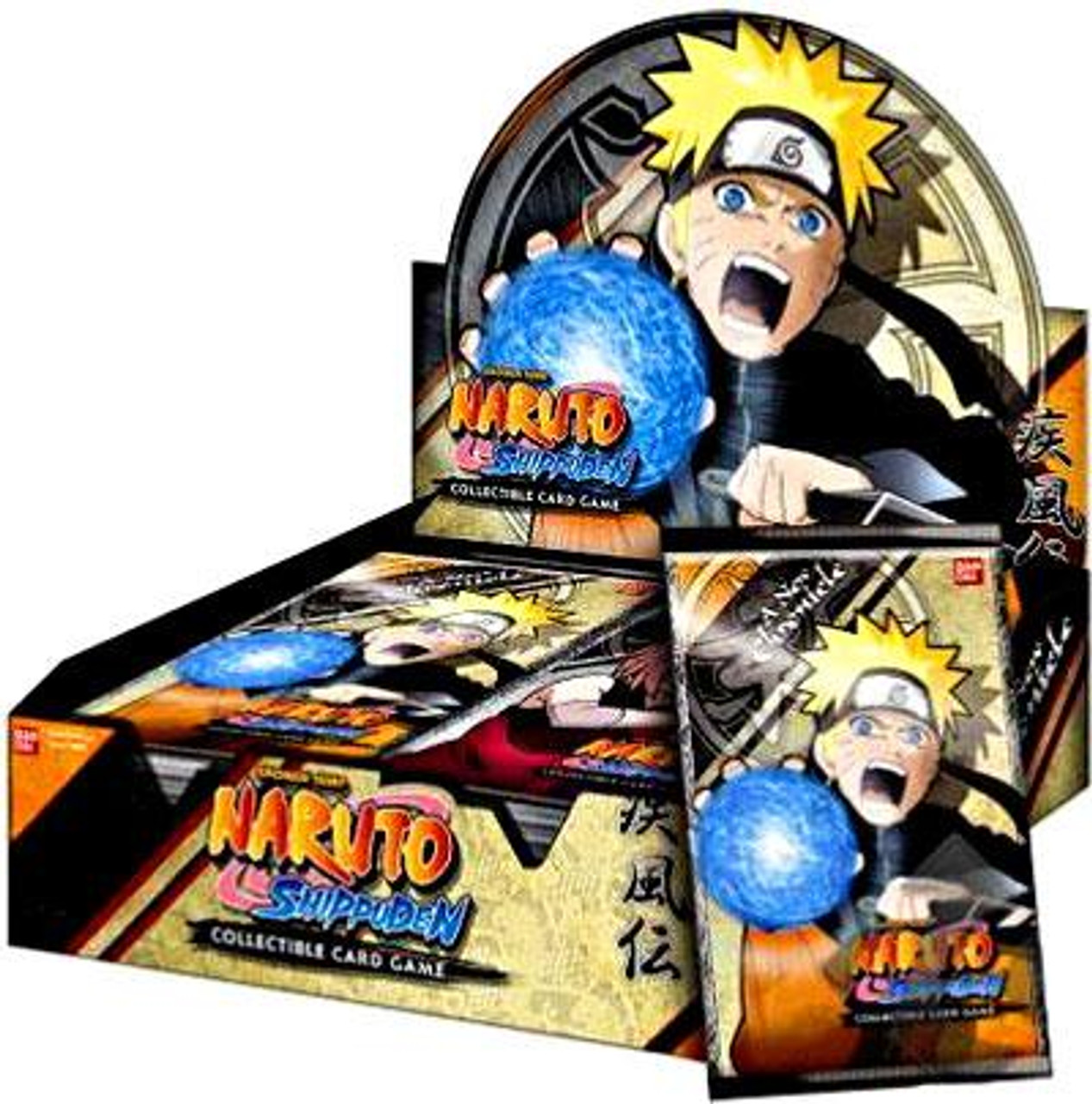Naruto Card Game New Chronicle Booster Box [24 Packs]