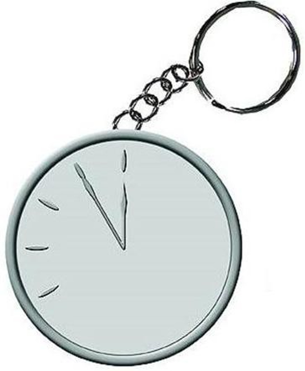 NECA Watchmen Doomsday Clock Metal Keychain