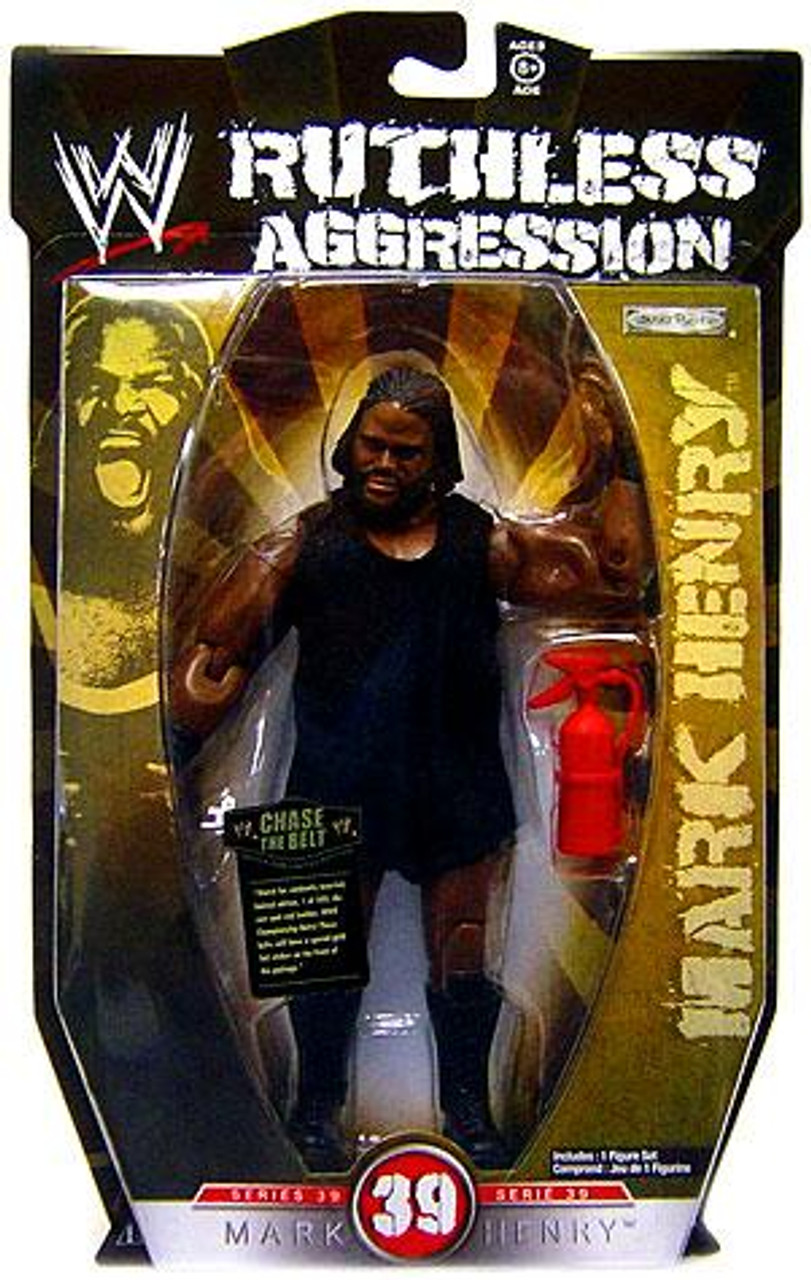 WWE Wrestling Ruthless Aggression Series 39 Mark Henry Action Figure