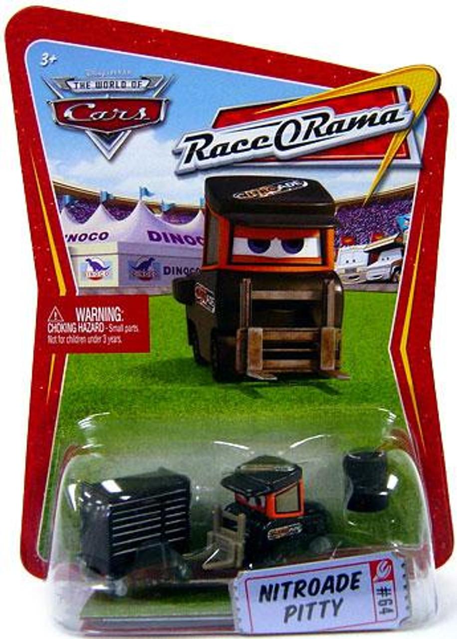 Disney Cars The World of Cars Race-O-Rama Nitroade Pitty Diecast Car #65
