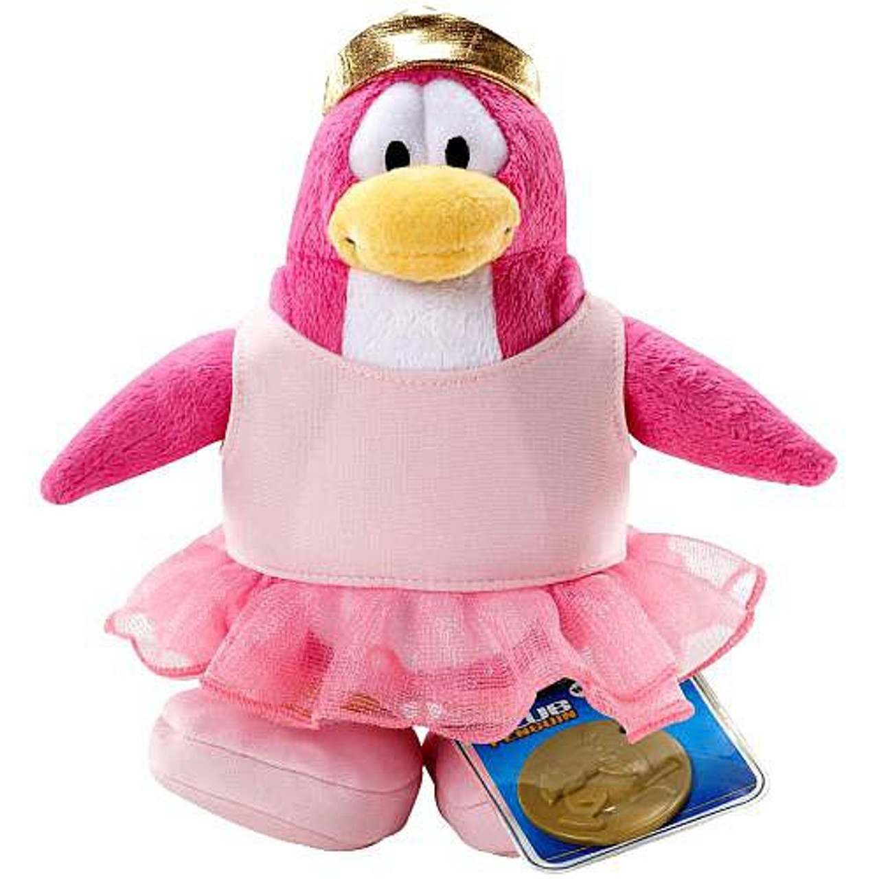Club Penguin Series 2 Ballerina 6.5-Inch Plush Figure