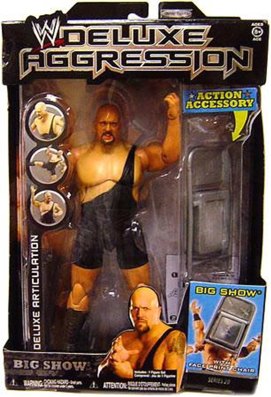 WWE Wrestling Deluxe Aggression Series 20 Big Show Action Figure