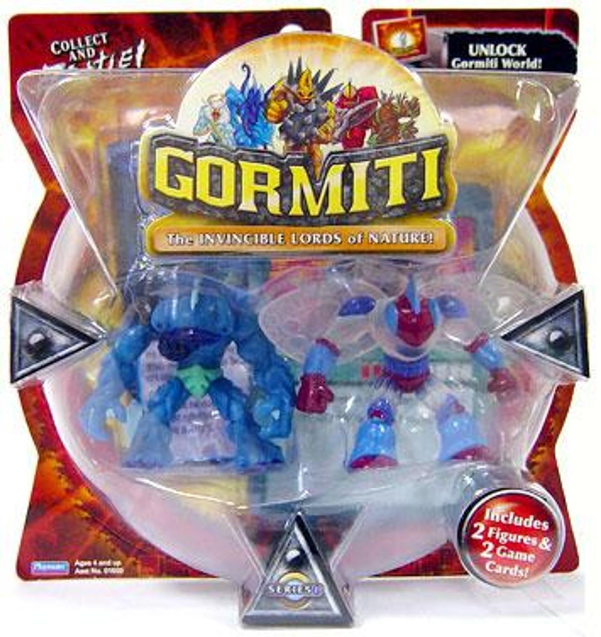 Gormiti Series 1 Hammer the Predator & Goad the Elusive Mini Figure 2-Pack [Random Colors]