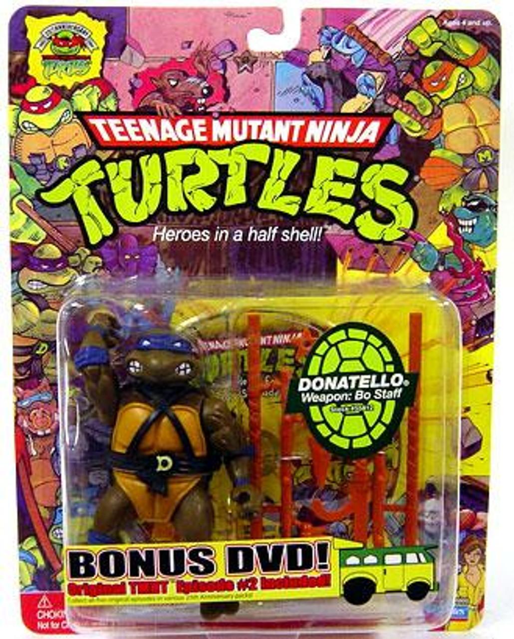 Teenage Mutant Ninja Turtles 1987 25th Anniversary Donatello Action Figure