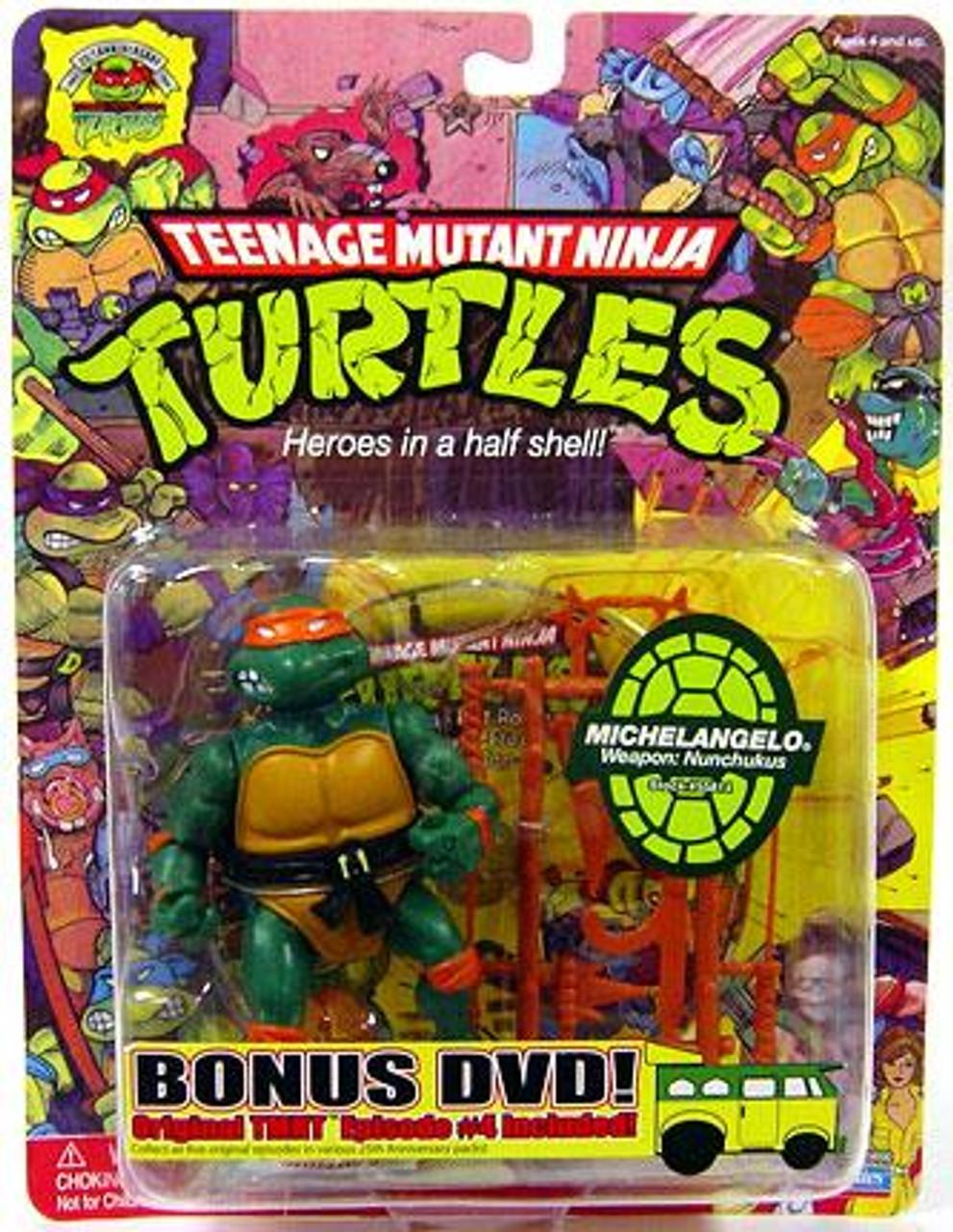 Teenage Mutant Ninja Turtles 1987 25th Anniversary Michelangelo Action Figure