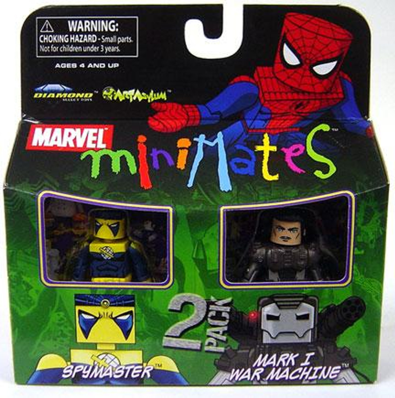 Marvel Minimates Series 23 Spymaster & Mark I War Machine Minifigure 2-Pack
