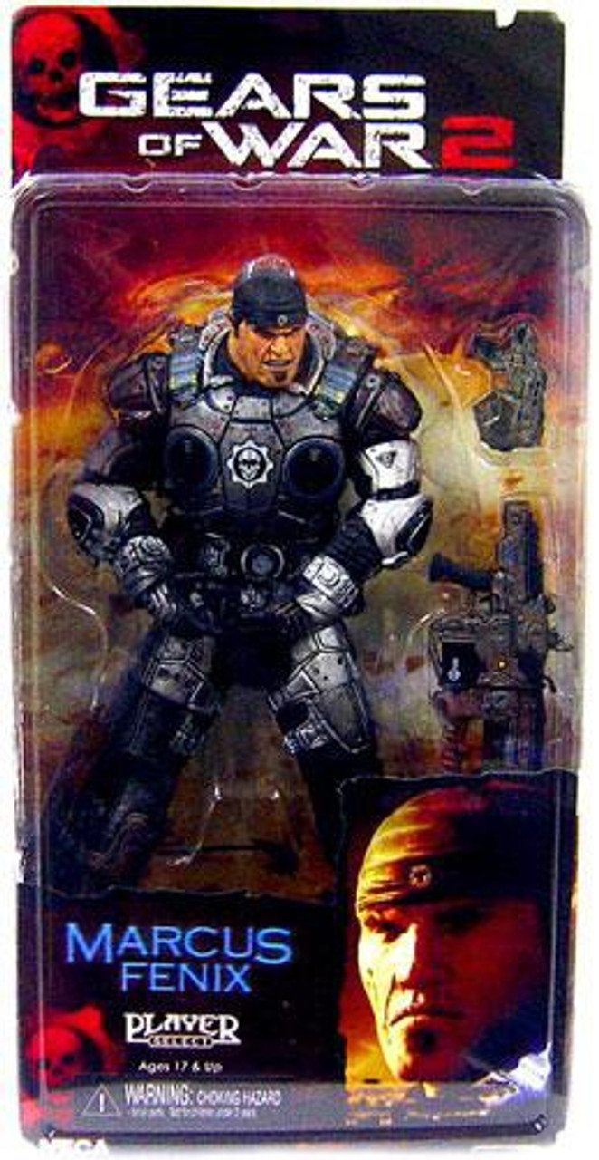 NECA Gears of War 2 Series 3 Marcus Fenix Action Figure