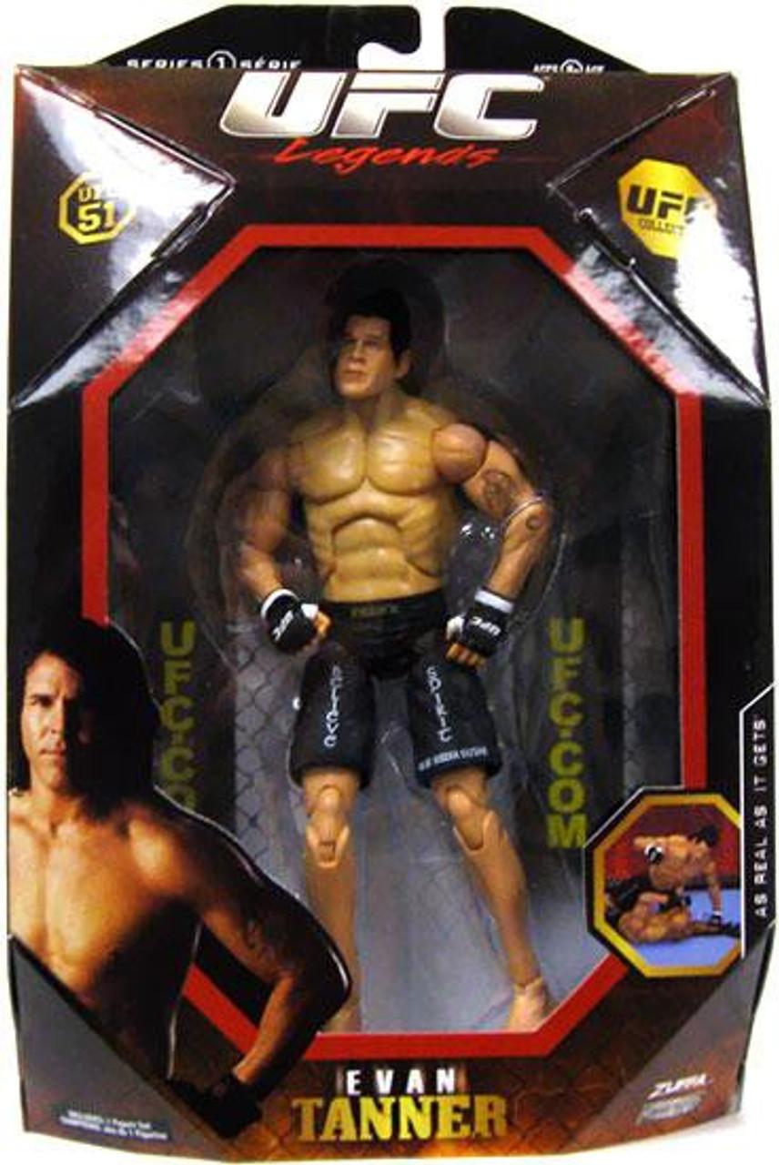 UFC Collection Series 1 Evan Tanner Action Figure [Legends, UFC 51]