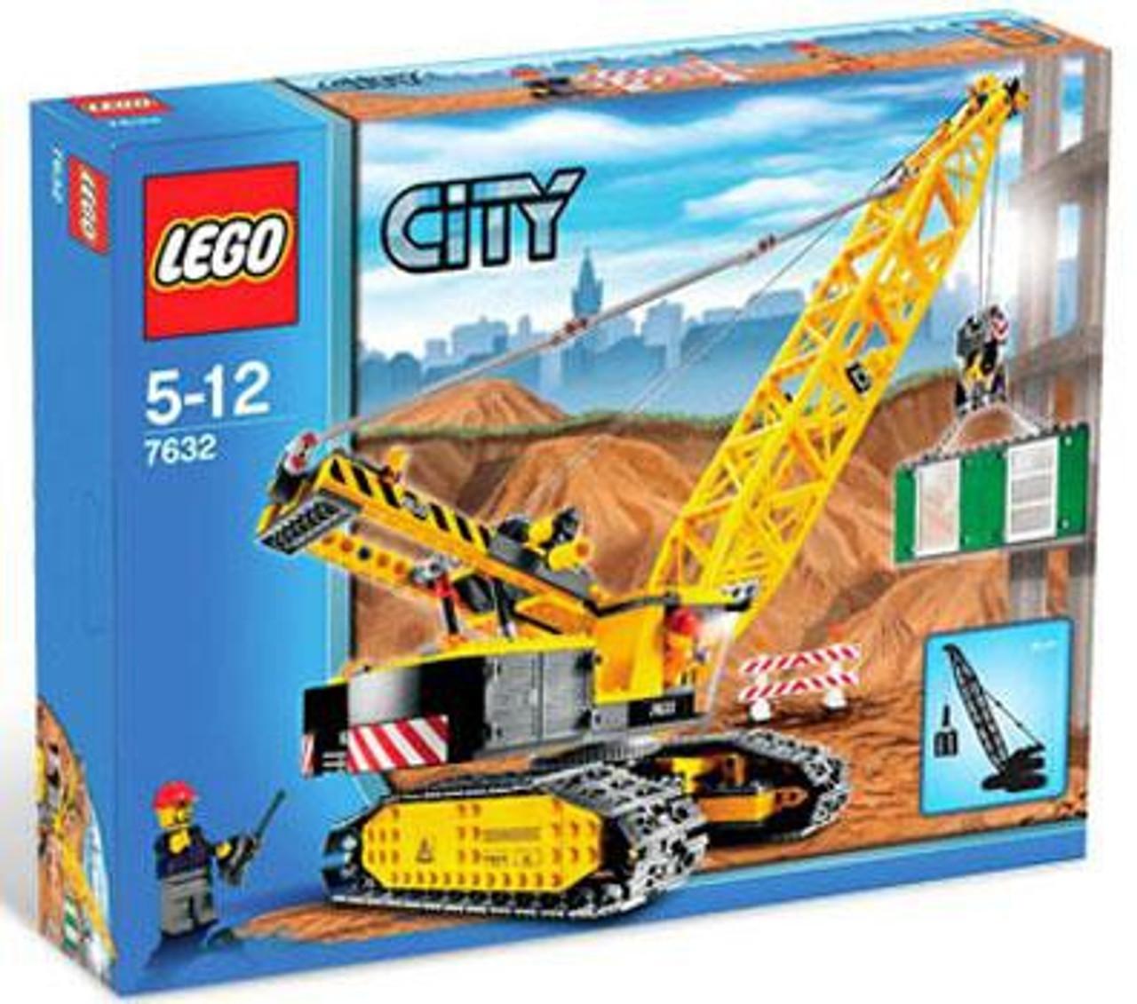 LEGO City Crawler Crane Set #7632